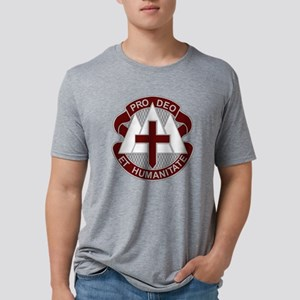Fort Carson MEDDAC Mens Tri-blend T-Shirt
