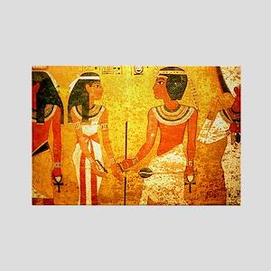 Cool Egyptian Art Rectangle Magnet