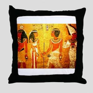 Cool Egyptian Art Throw Pillow