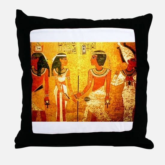 Cool Egyptian Art Throw Pillow