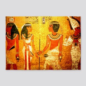 Cool Egyptian Art 5'x7'Area Rug