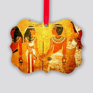 Cool Egyptian Art Picture Ornament