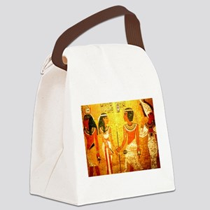Cool Egyptian Art Canvas Lunch Bag
