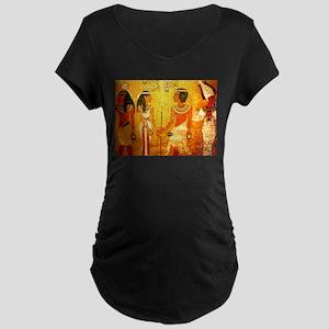 Cool Egyptian Art Maternity Dark T-Shirt