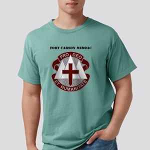 Fort Carson MEDDAC with  Mens Comfort Colors Shirt