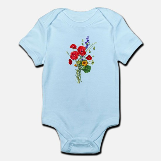 Jean Louis Prevost Bouquet Infant Bodysuit