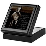Horse Square Keepsake Boxes