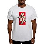 Edelweiss stack Ash Grey T-Shirt