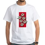 Edelweiss stack White T-Shirt