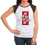 Edelweiss stack Women's Cap Sleeve T-Shirt
