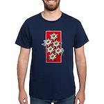 Edelweiss stack Navy T-Shirt