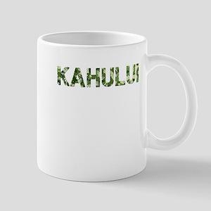 Kahului, Vintage Camo, Mug