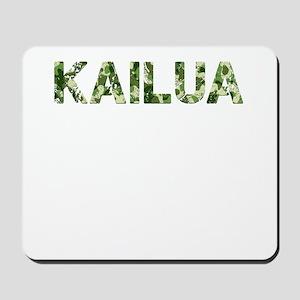 Kailua, Vintage Camo, Mousepad