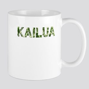 Kailua, Vintage Camo, Mug