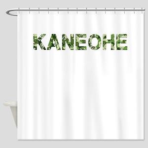 Kaneohe, Vintage Camo, Shower Curtain