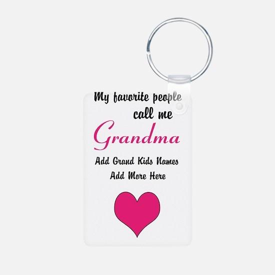 Grandma Personalized Keychains