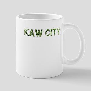 Kaw City, Vintage Camo, Mug