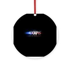 New COPS Logo Ornament (Round)