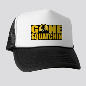 Gone Squatchin - Bark at the Moon Trucker Hat