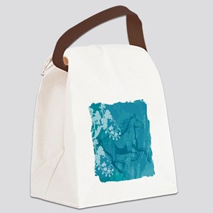 Mystic Garden Horse Canvas Lunch Bag
