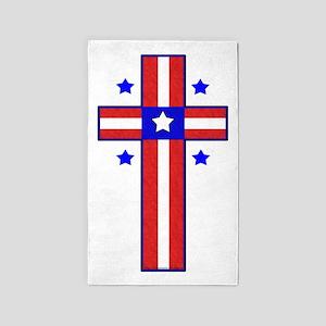 Christian Cross Area Rug