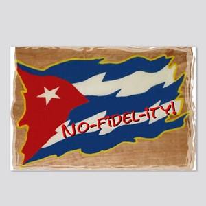 NO-FIDEL-ITY! Postcards (Package of 8)