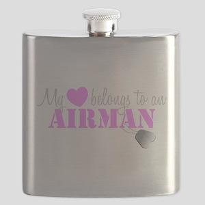 My 3 belongs to an Airman Flask