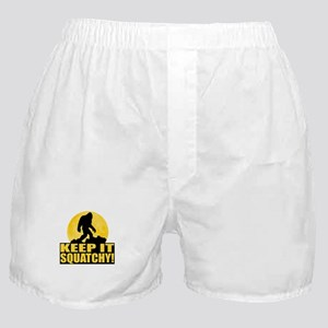 Keep It Squatchy! - Bark at the Moon Boxer Shorts