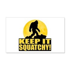 Keep It Squatchy! - Bark at the Moon Wall Decal