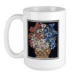 Edelweiss Bouquet Large Mug