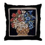 Edelweiss Bouquet Throw Pillow
