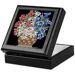 Edelweiss Bouquet Keepsake Box