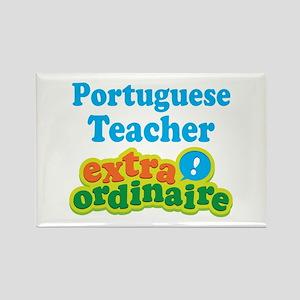 Portuguese Teacher Extraordinaire Rectangle Magnet