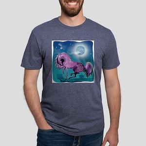GS-moonlitpurappy3PL-1 Mens Tri-blend T-Shirt