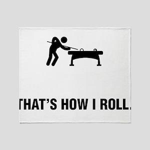 Billiard / Pool Throw Blanket