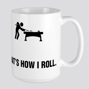 Billiard / Pool Large Mug