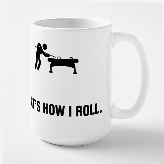 Billiard / Pool Large Mug