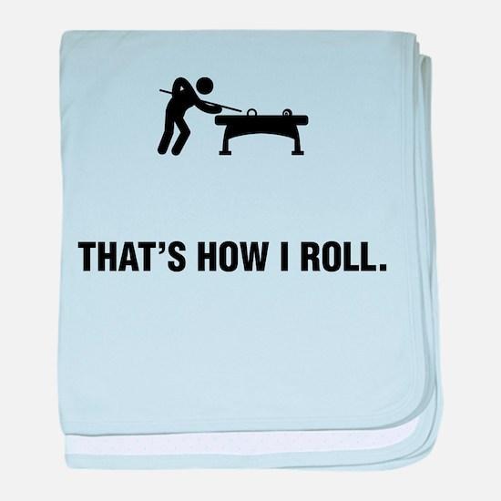 Billiard / Pool baby blanket