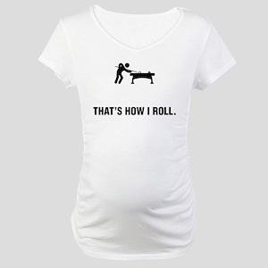 Billiard / Pool Maternity T-Shirt