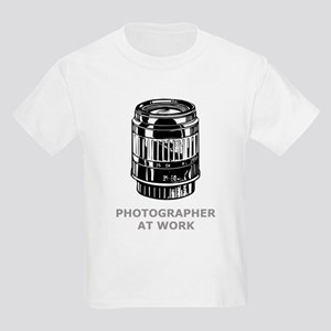 Photographer At Work Kids T-Shirt