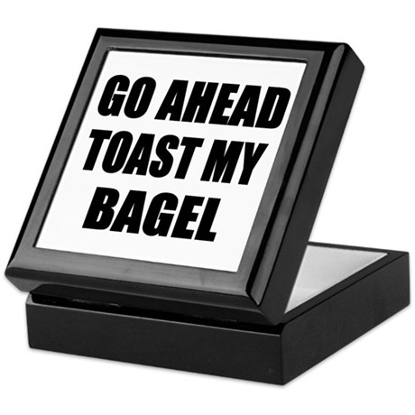 Toast My Bagel Keepsake Box