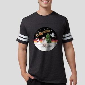 R-NightFlight-ClumberSpaniel.p Mens Football Shirt