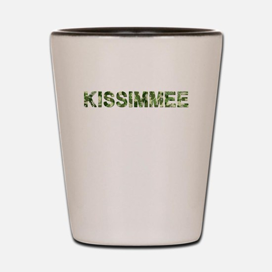 Kissimmee, Vintage Camo, Shot Glass