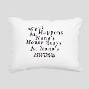 Nanas House Rectangular Canvas Pillow