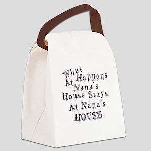 Nanas House Canvas Lunch Bag