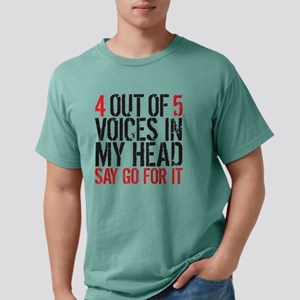 4 out of 5 Mens Comfort Colors Shirt