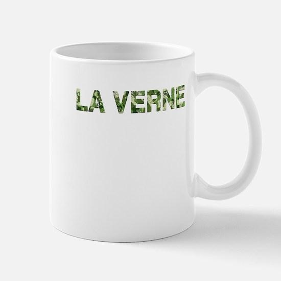 La Verne, Vintage Camo, Mug