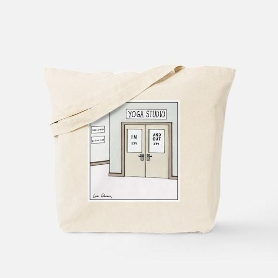 Unique Exercises Tote Bag