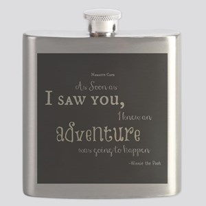 As soon as I saw you: Adventure Flask