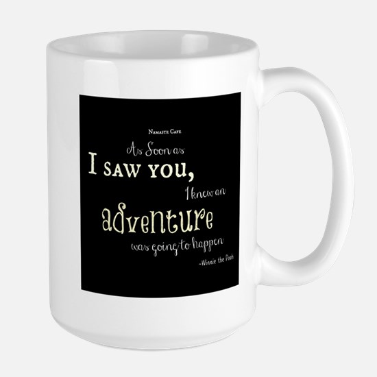 As soon as I saw you: Adventure Large Mug